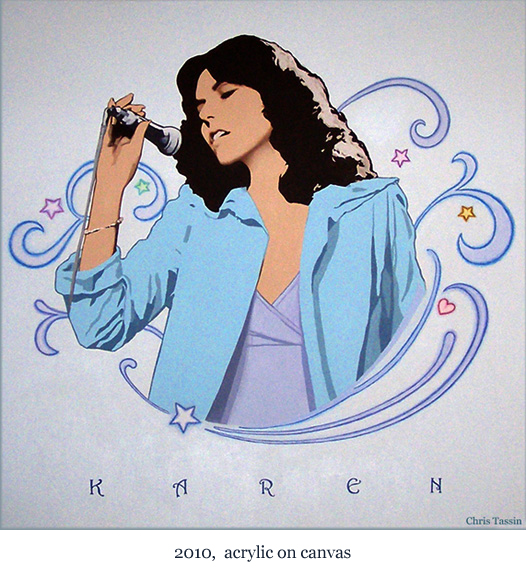 Karen Carpenter by Chris Tassin