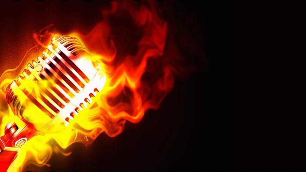 burning mic