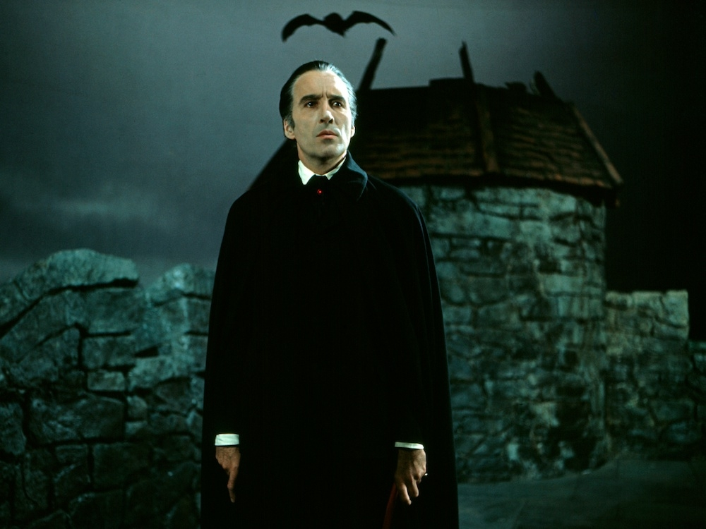 "Christopher Lee, ""Scars of Dracula"""