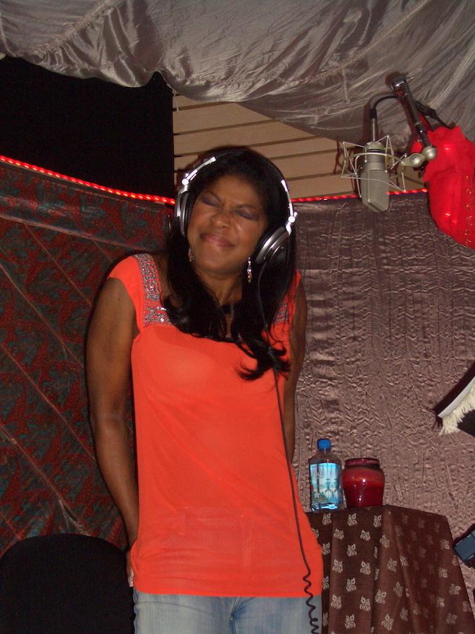 Natalie Cole recording