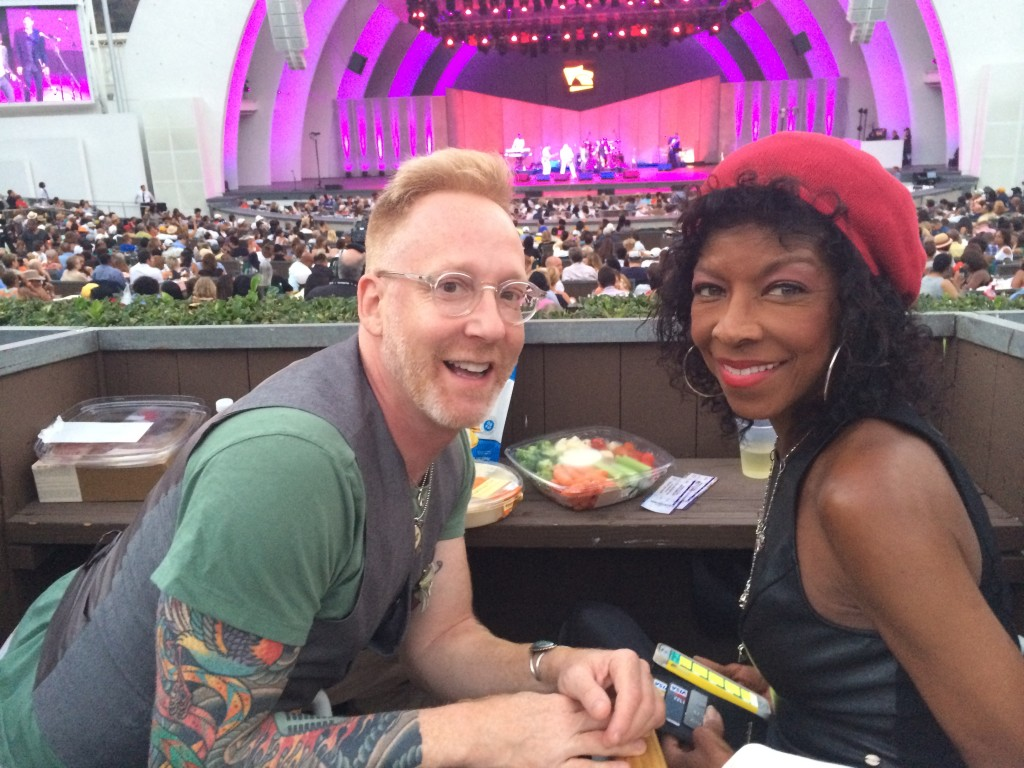 Natalie Cole Hollywood Bowl