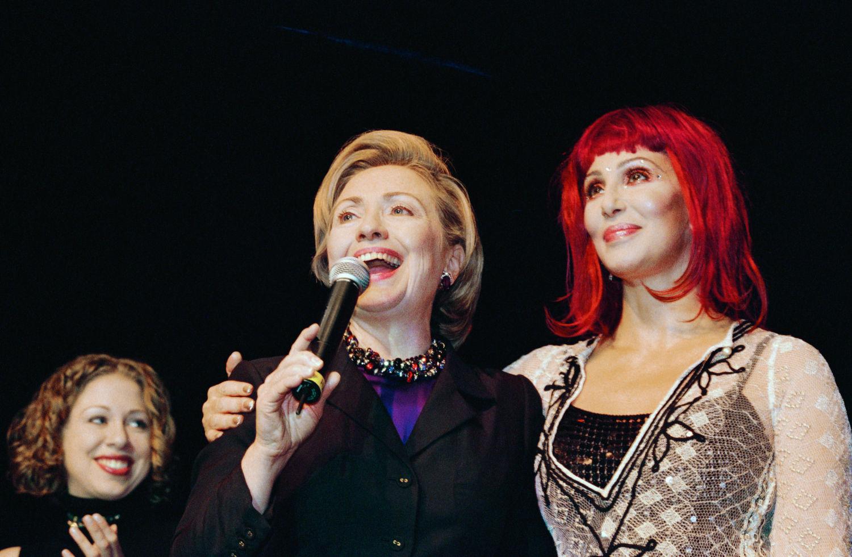 Cher, Hillary Clinton