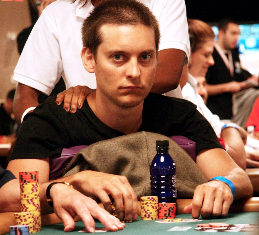 Tobey Maguire, poker