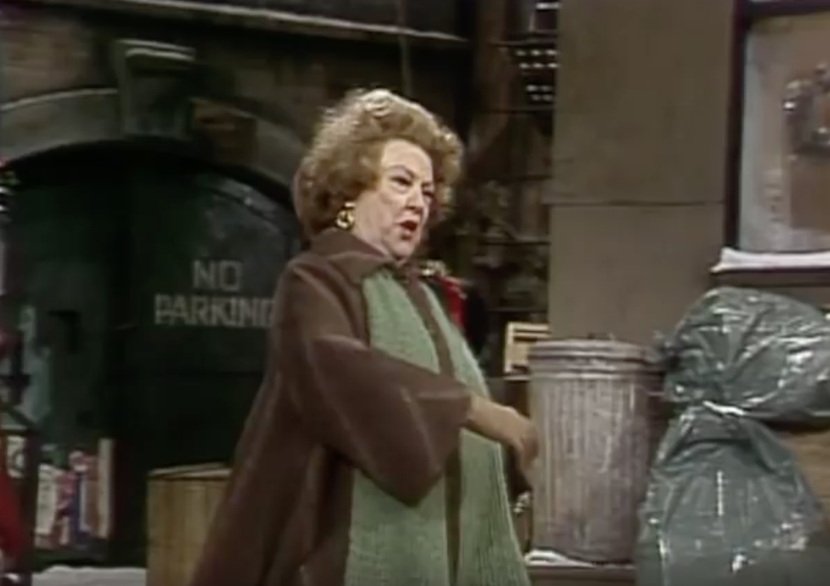 Ethel Merman old