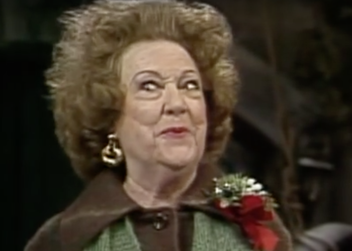 Ethel Merman weird face