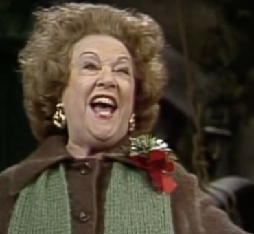 "Ethel Merman's Scorched Earth version of ""Tomorrow"" from <I>Annie</I>"