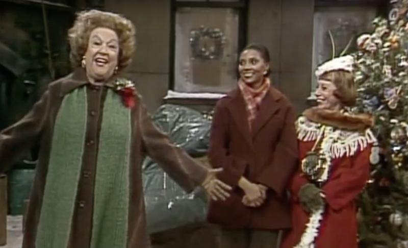 Ethel Merman, Sesame Street, Lesley Uggams