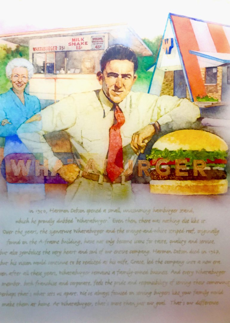 Harlan Dobson, Whataburger