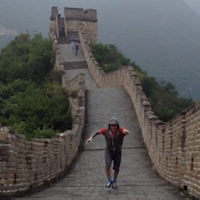 A 10 Second Video Channelling Shelly Winters on The Great Wall of China